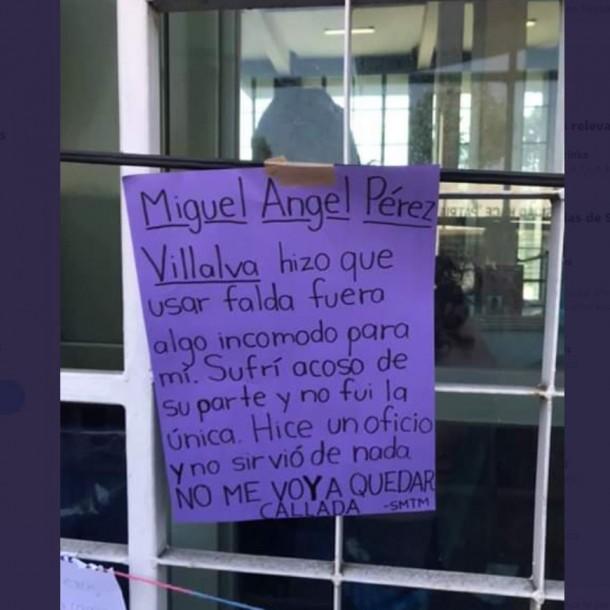 Maestro en México acusado de acoso: