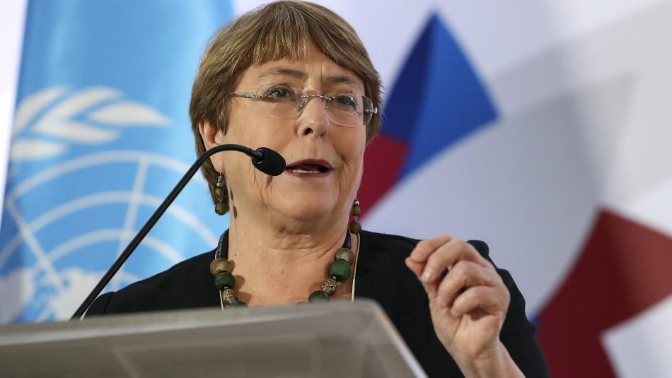 Bachelet entregará este jueves el primer informe del 2020 sobre la situación de Venezuela y Nicaragua