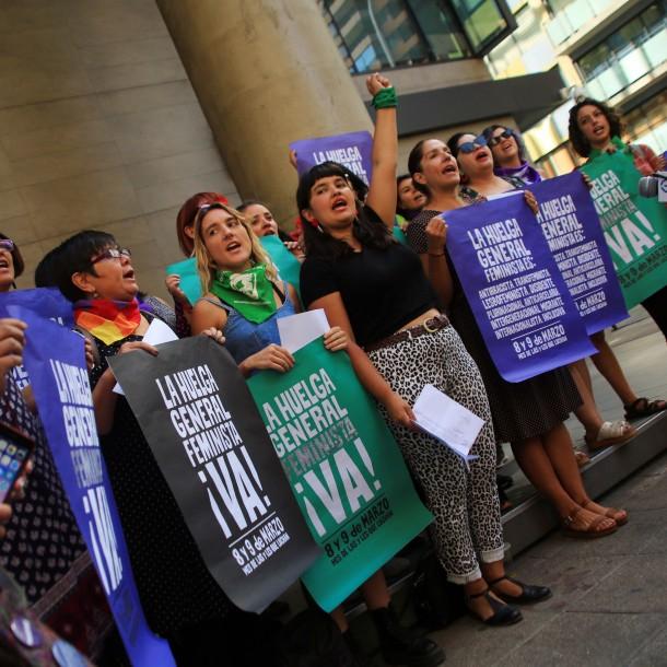 Organizadoras del 8M vuelve a rechazar reunión con el Gobierno y lanzan dardos contra ministra Plá