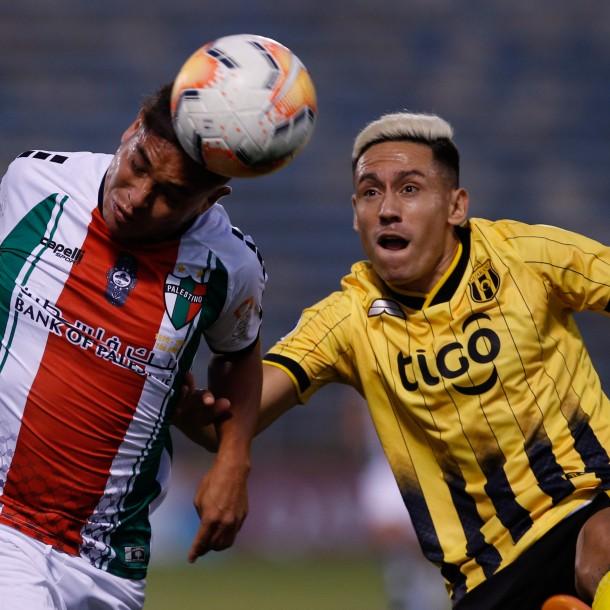 Sigue el partido de Guaraní vs. Palestino por Copa Libertadores