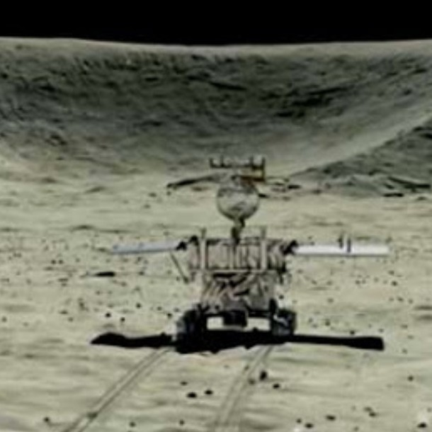 Robot chino arroja secretos de la cara oculta de la Luna