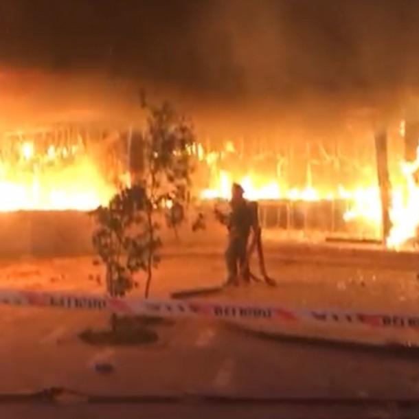 Incendio afecta nuevamente a Museo Violeta Parra en el centro de Santiago