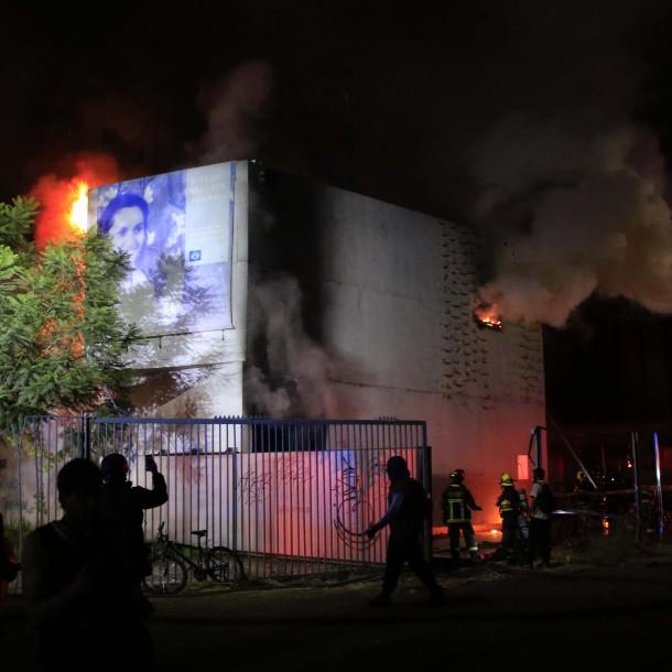 Dirección de Museo Violeta Parra tras incendio:
