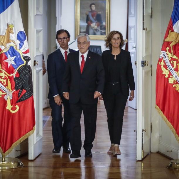 Presidente Piñera y salida de Marcela Cubillos: