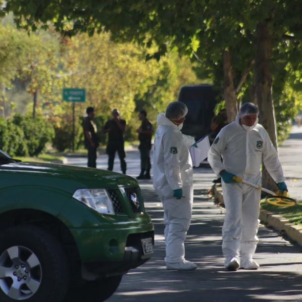 Grupo se adjudica ataque con explosivos que afectó a edificio en Vitacura