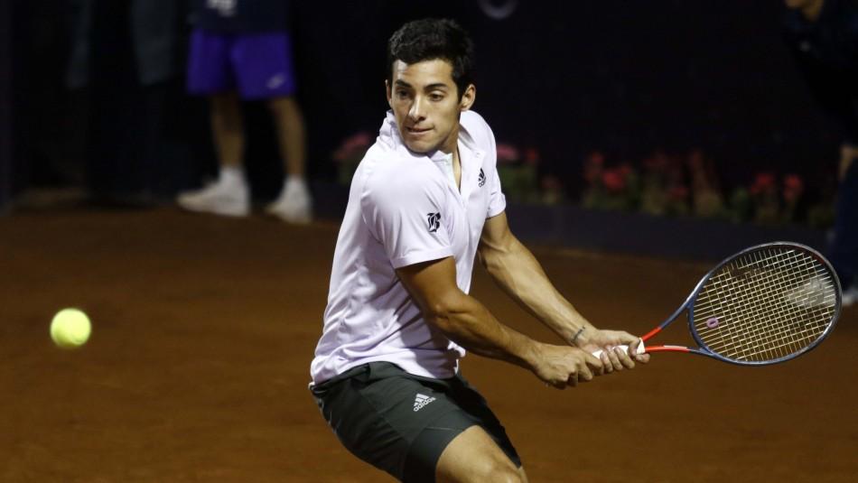 Sigue en vivo el partido de Cristian Garin ante el 182 del mundo en el ATP 250 de Santiago