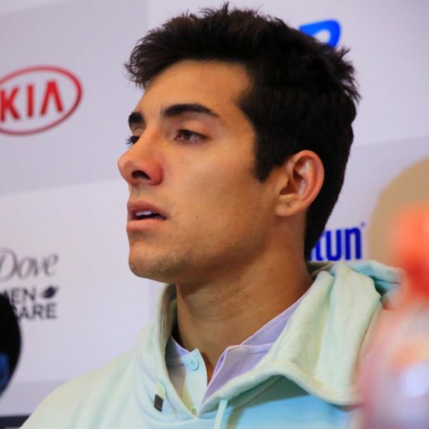 Cristian Garín tras retirarse de ATP de Santiago: