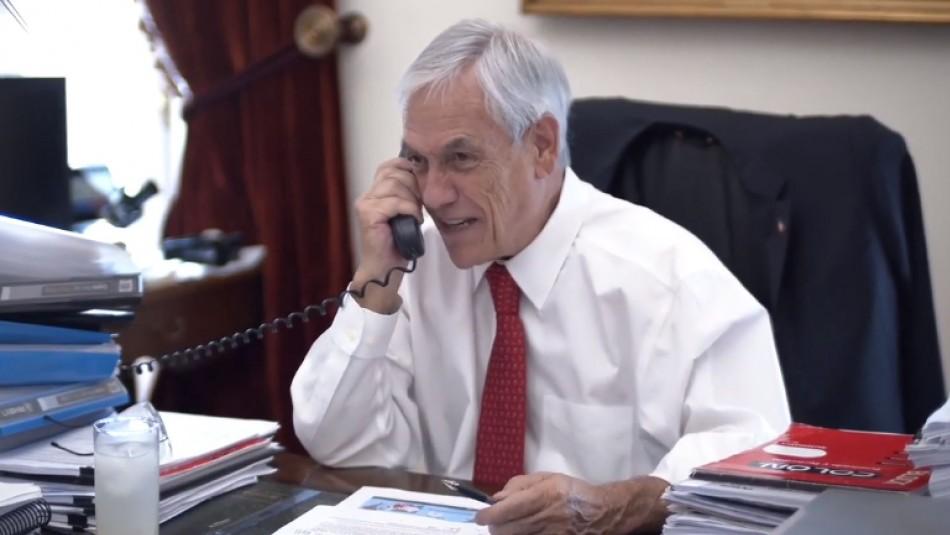 Piñera llama al presidente de China por coronavirus: