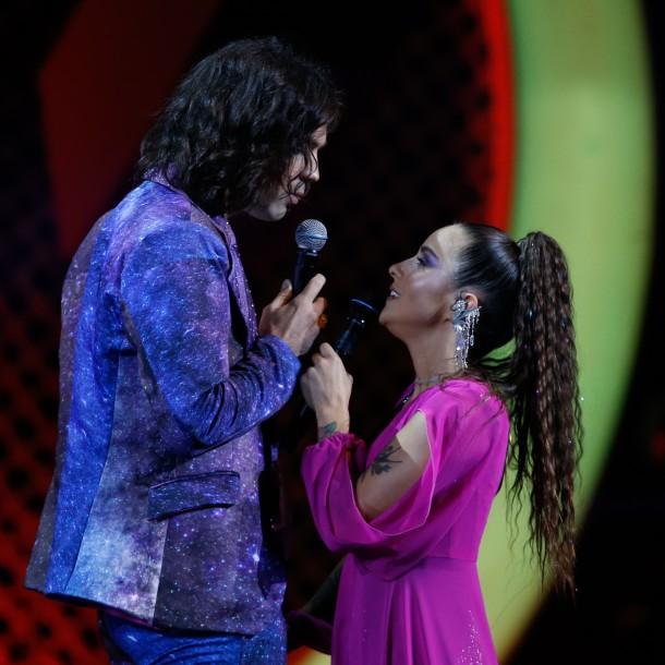 El romántico momento que protagonizaron Denise Rosenthal y su novio en la Quinta Vergara
