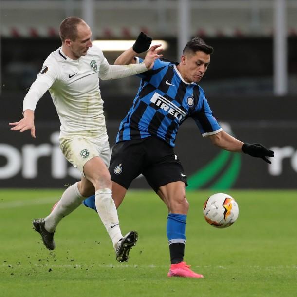 Partido Juventus vs. Inter de Alexis Sánchez fue suspendido por causa del coronavirus