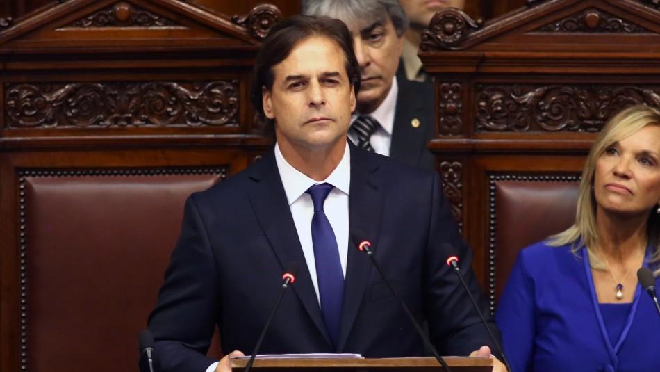 Luis Lacalle Pou asume como presidente de Uruguay con Sebastián Piñera como invitado