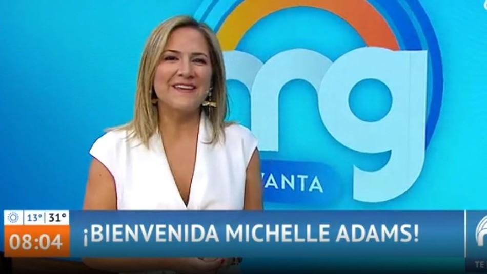 Michelle Adams debutó en Mucho Gusto en nuevo bloque liderado por mujeres