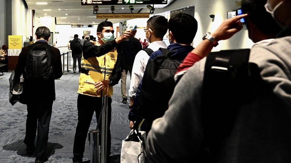 Viajó por Asia y llegó a Chile a finales de febrero: Todo lo que se sabe sobre el primer caso de coronavirus en Chile