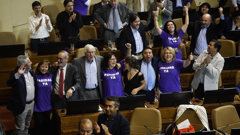 Cámara de Diputados aprueba proyecto de paridad y pasa al Senado