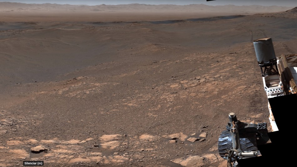 NASA revela impresionante panorámica de Marte capturada en alta resolución