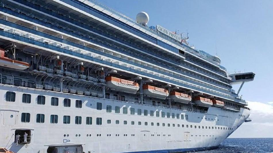 21 pasajeros de un crucero en Estados Unidos dieron positivo por coronavirus