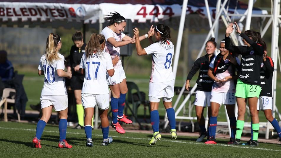Selección Chilena Femenina va por nuevo triunfo.
