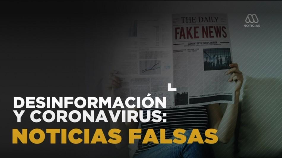 Coronavirus: Noticias falsas y desinformación sobre la pandemia