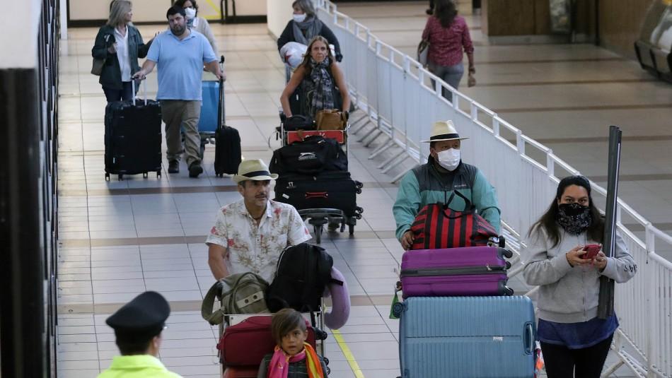 Gobierno confirma nuevos vuelos destinados a repatriar chilenos desde el extranjero