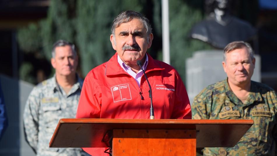 Confirman que intendente de La Araucanía dio positivo por coronavirus