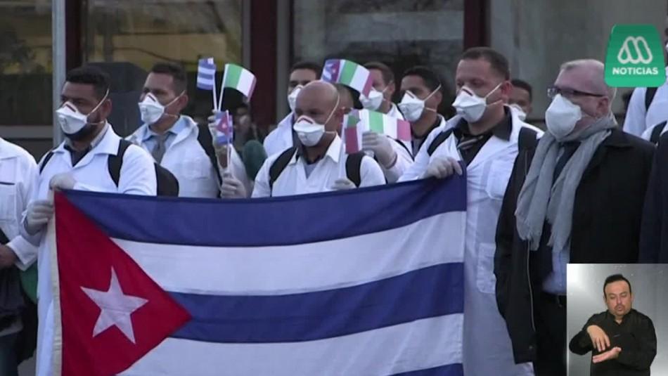 Médicos cubanos expertos en epidemias llegan a Italia para apoyar con el coronavirus