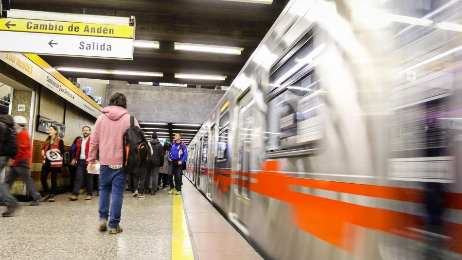 Metro de Santiago anuncia suspensión de ruta expresa en Línea 2 a partir de este martes