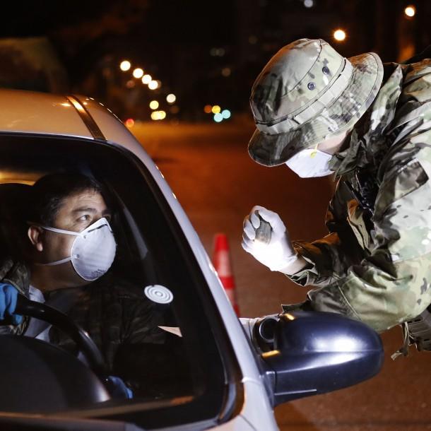 Minuto a Minuto: Aplican estrictos controles sanitarios en carreteras en Semana Santa