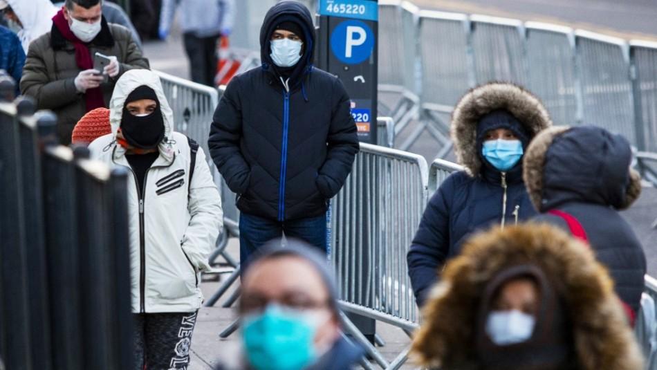 Estados Unidos registra 827 muertes y más de 60 mil contagios por coronavirus