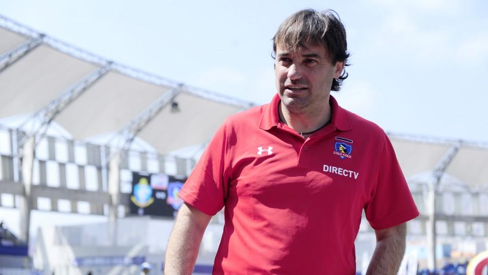 José Luis Sierra confiesa que volvería a Colo Colo: