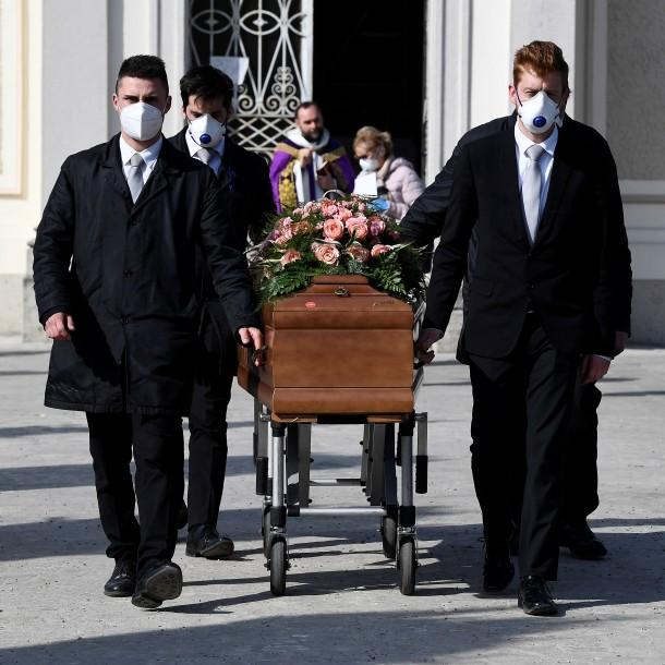 Italia superó los 10 mil muertos por el coronavirus: 889 nuevas defunciones en las últimas 24 horas