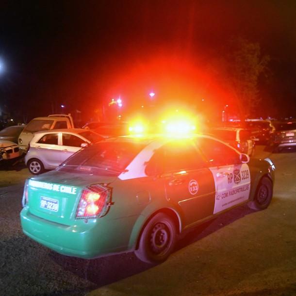Asaltantes fueron detenidos tras intento de robo en servicentro de Recoleta