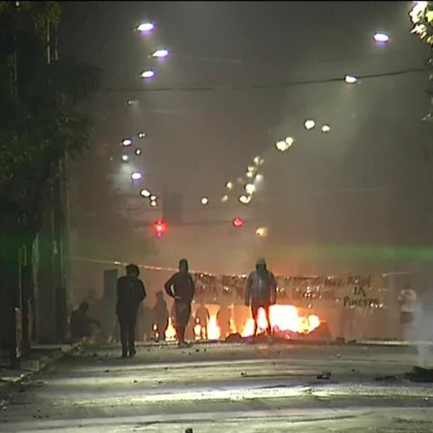 Día del Joven Combatiente: Se registraron incidentes en la capital pese a toque de queda