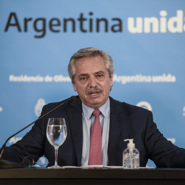 Presidente argentino a empresarios tras crisis por coronavirus: