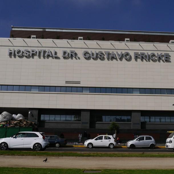 Hospital Gustavo Fricke confirma caso de coronavirus de funcionario: