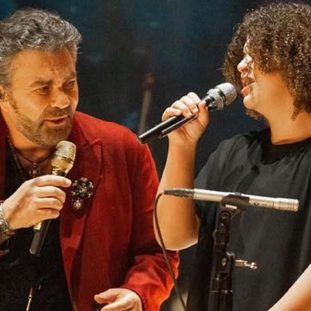 El video de la reaparición de la hija de Lucerito cantando con su padre que revela su hermosa voz