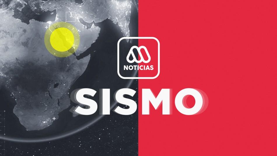 SHOA descarta tsunami en Chile tras sismo 6,5 en Estados Unidos