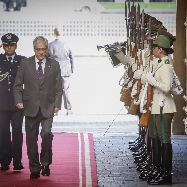 Carabineros confirma segundo caso de coronavirus en la Guardia de Palacio de La Moneda