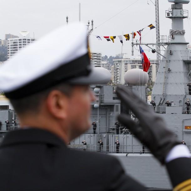 La Armada confirma a 6 marinos chilenos contagiados de coronavirus en Australia