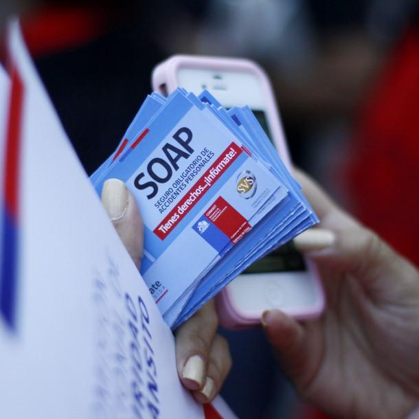 Asociación Aseguradores de Chile por pago del SOAP: