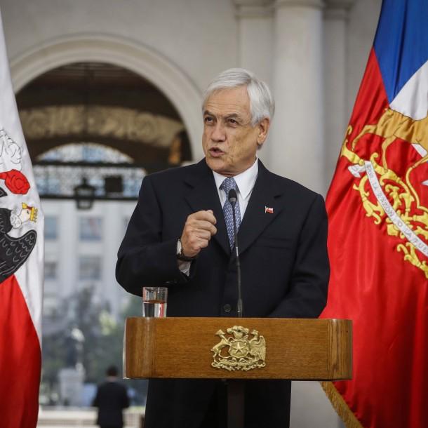 Permiso de circulación: Piñera anuncia veto sustitutivo que elimina pago de intereses