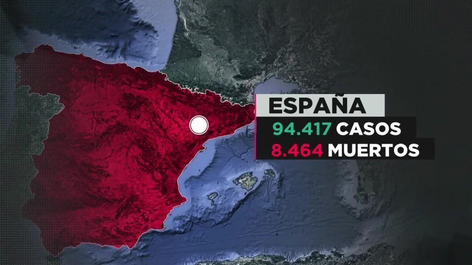 COVID-19 en España: Superan los 8 mil muertos y decretan luto oficial en Madrid