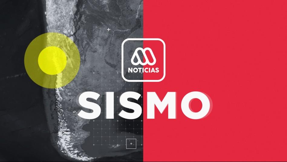 SHOA descarta tsunami en Chile tras temblor en la Región de Atacama