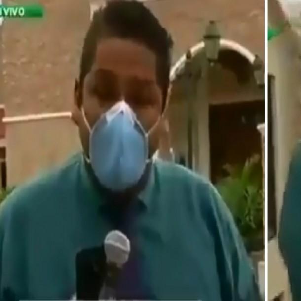 Periodista ecuatoriano rompió en llanto al ver la situación que vive su país por coronavirus
