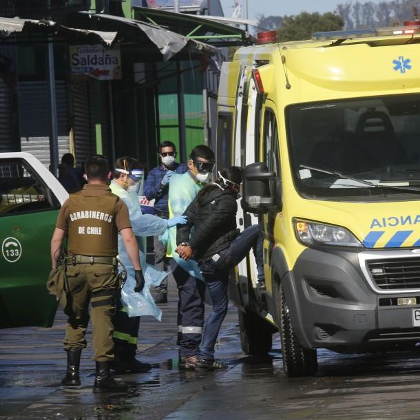 Detienen en Concepción a mujer con coronavirus que escapó del hospital
