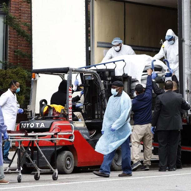 Estados Unidos supera las 200 mil personas contagiadas de coronavirus