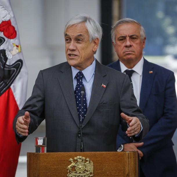 Presidente Piñera anuncia aplazamiento de tres meses en alzas de Isapres