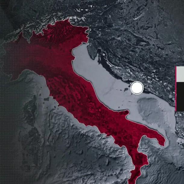 COVID-19 en Italia: Extienden confinamiento y medidas de prevención