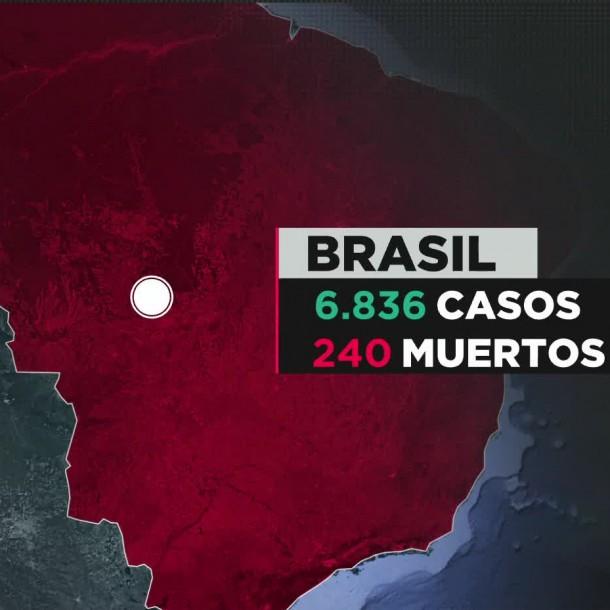 COVID-19 en Brasil: Cacerolazos siguen contra Bolsonaro