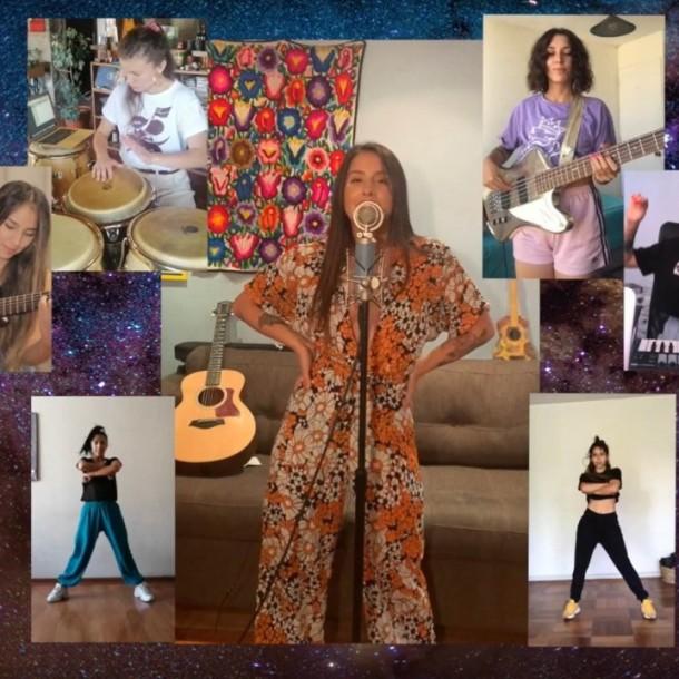 Quédate en casa: Denise Rosenthal estrena videoclip grabado en cuarentena para