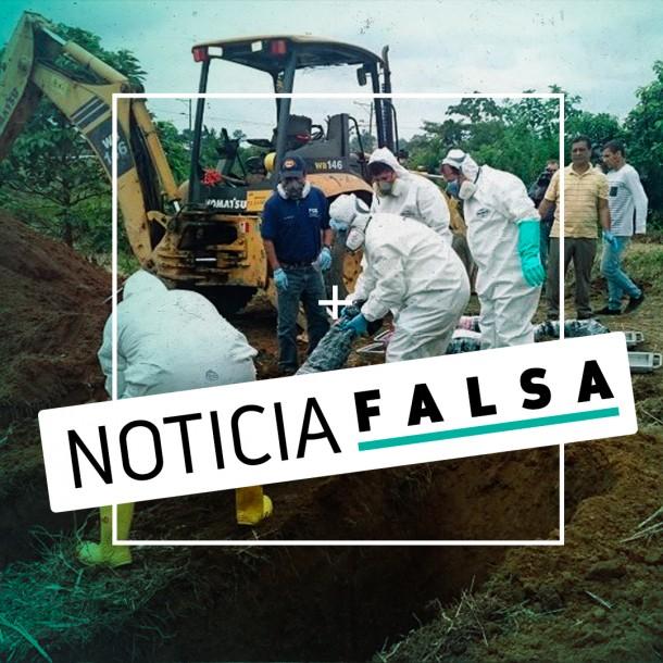 La falsa imagen de las fosas comunes en Ecuador que se volvió viral en medio de crisis por Coronavirus
